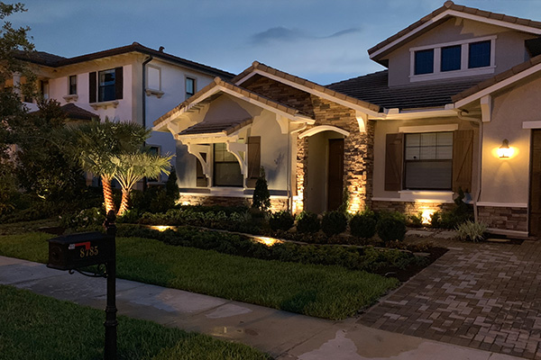 Improve Your Landscape Design and Installation with Lighting