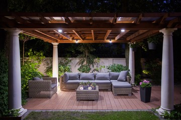 Create a Fabulous Garden Display with Lighting, Edging, and Timbers